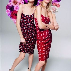 Karl Lagerfeld Vogue Paris Rose Slip Dress